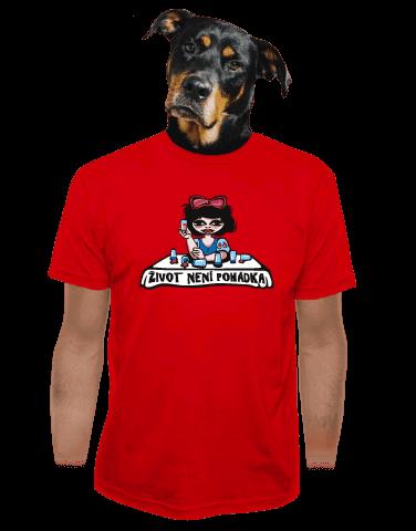 Sněhurka pánské tričko