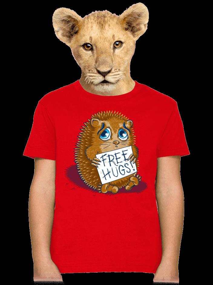Objetí zdarma dětské tričko