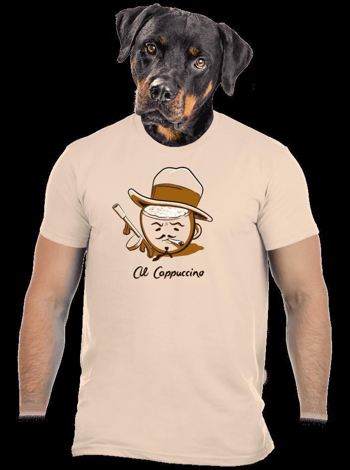 Al Cappuccino pánské tričko