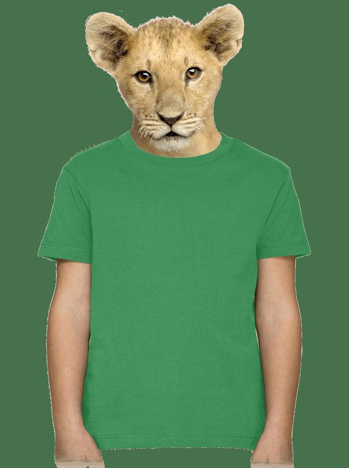 Dětské tričko zelené