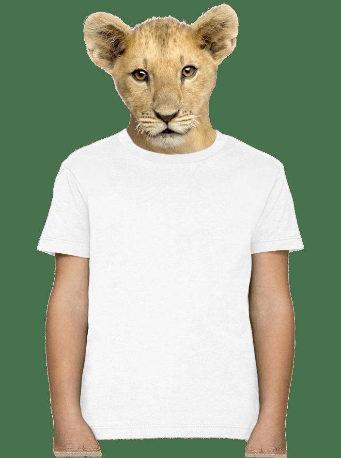 Dětské tričko bílé