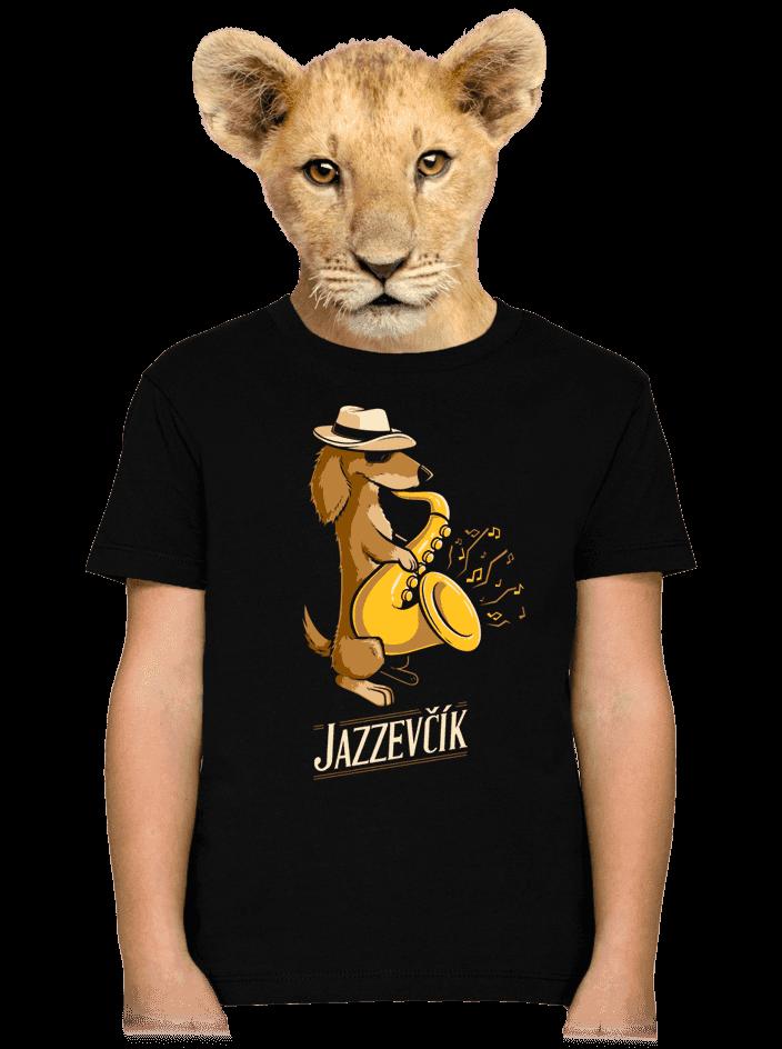 Jazzevčík dětské tričko