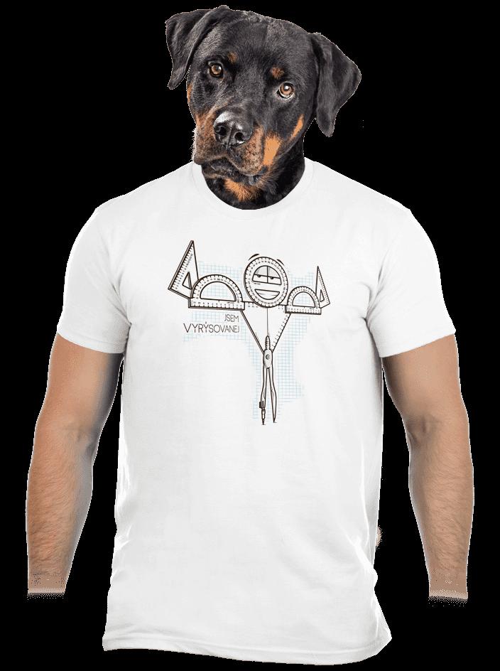 Vyrýsovanej pánské tričko