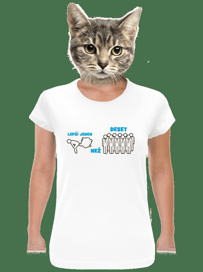 Jeden prd dámské tričko