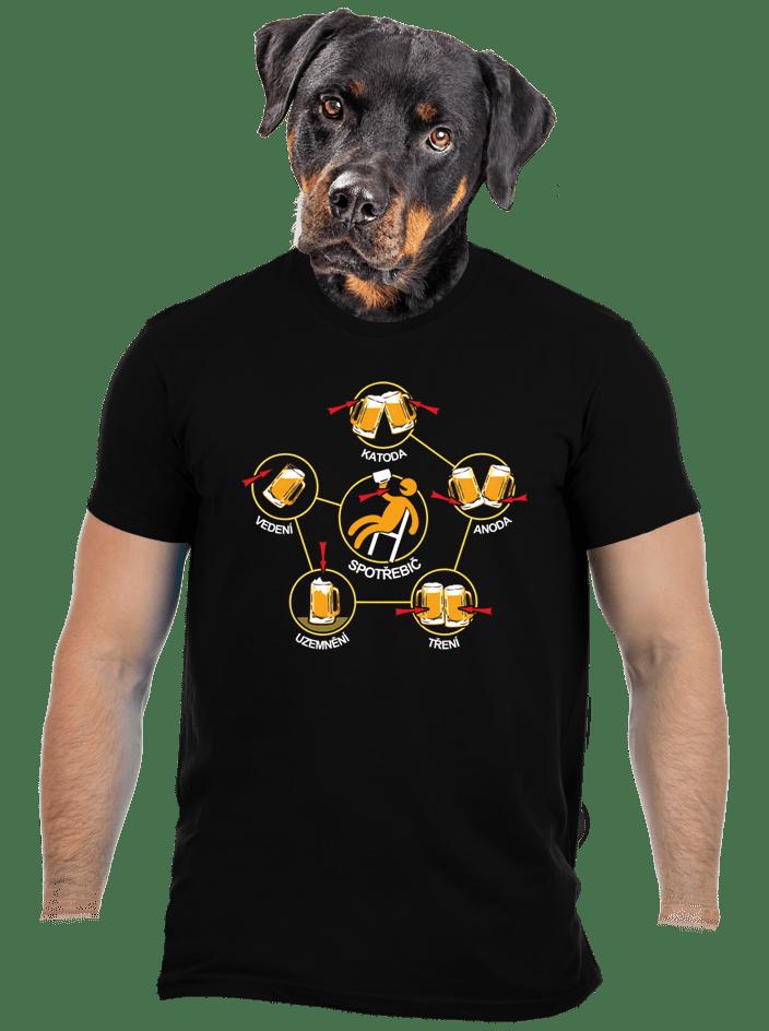 Pivní obvody pánské tričko