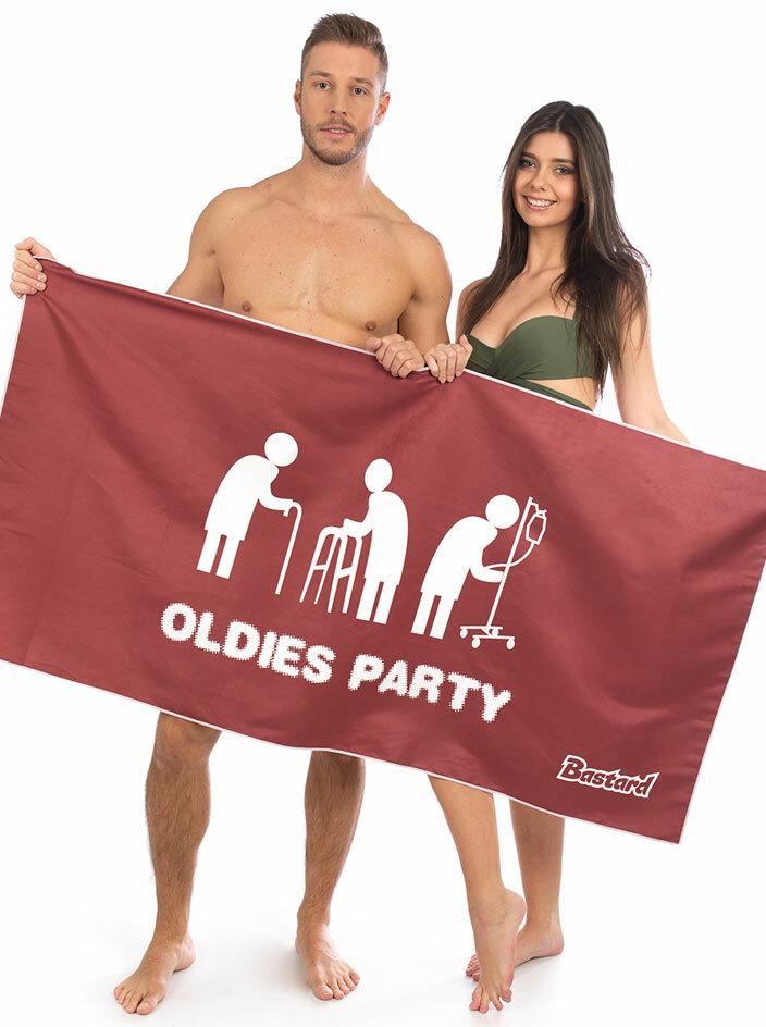 Oldies party rychleschnoucí osuška