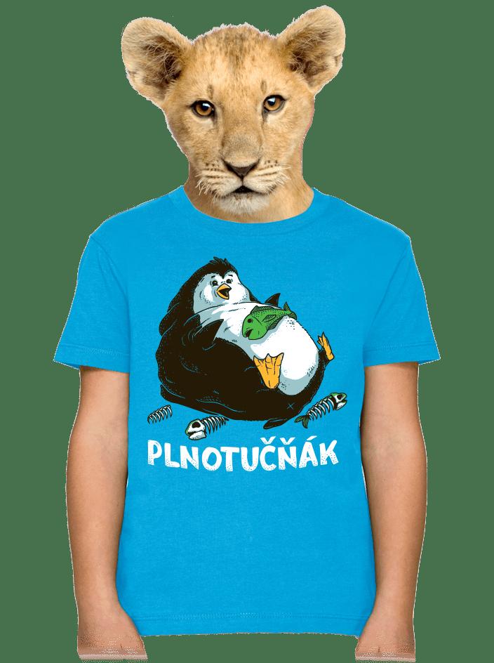 Plnotučňák dětské tričko