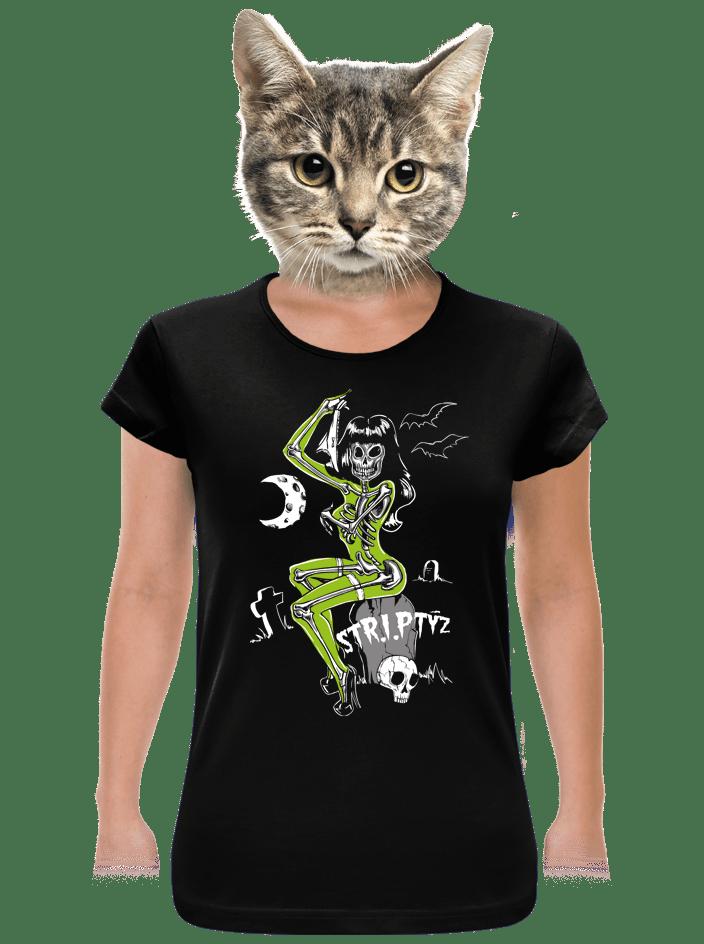 Striptýz dámské BIO tričko