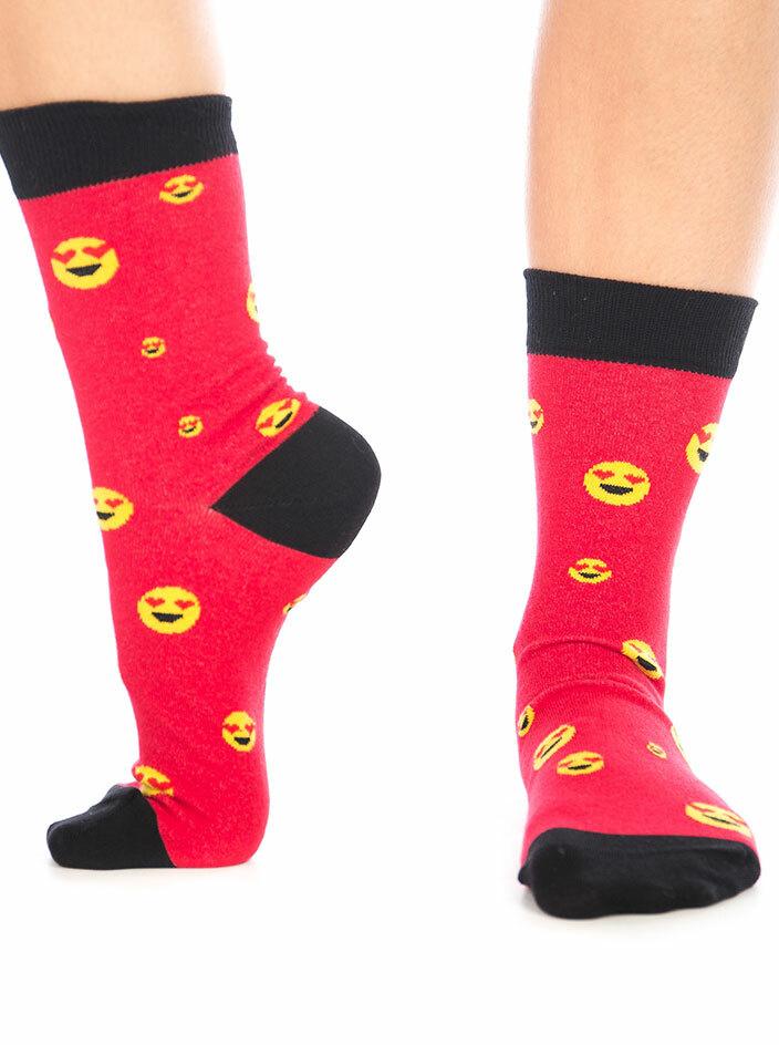 Smajlík zamilovaný ponožky