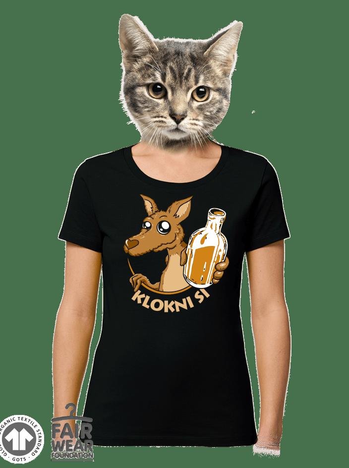 Klokni si dámské BIO tričko