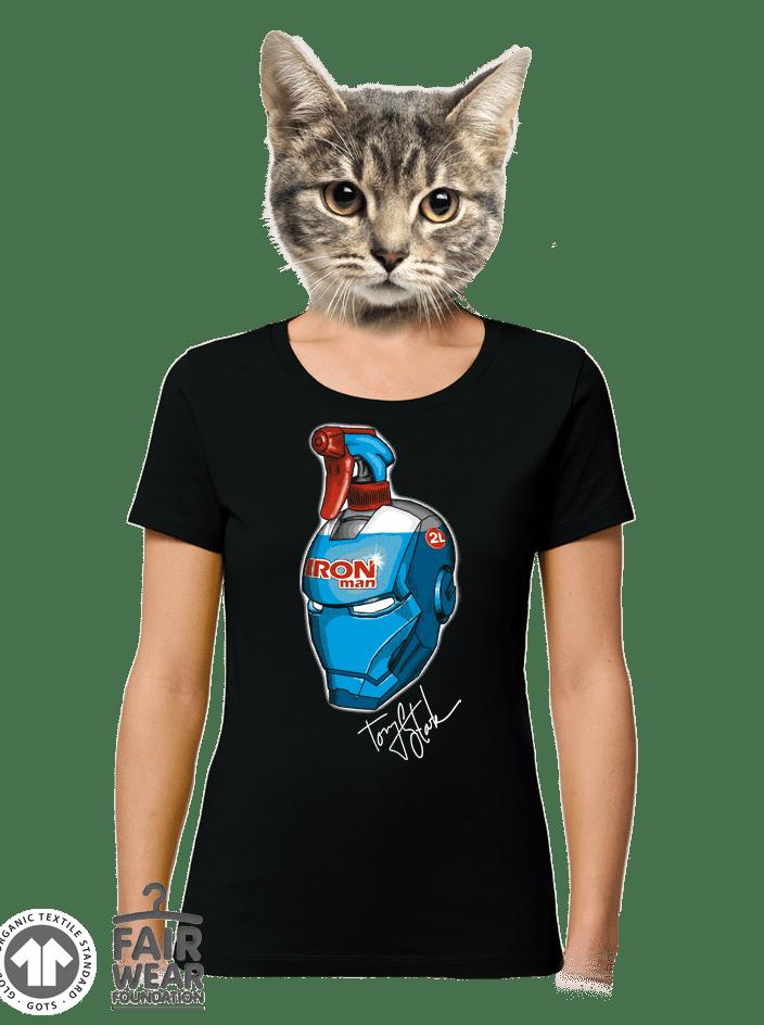 Čistič oken dámské BIO tričko