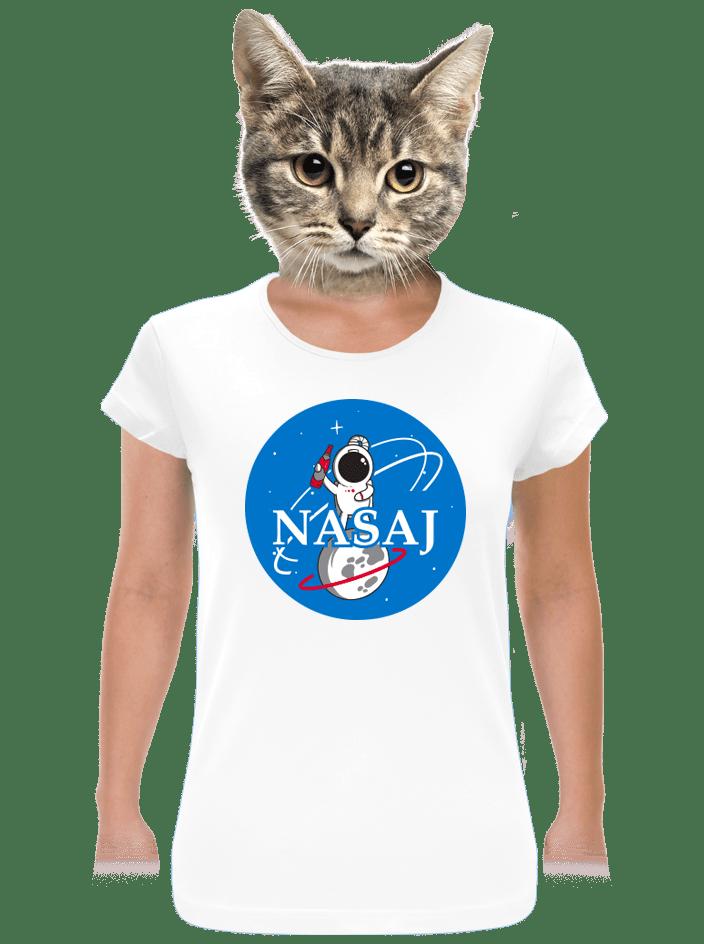 Nasaj bílé dámské tričko