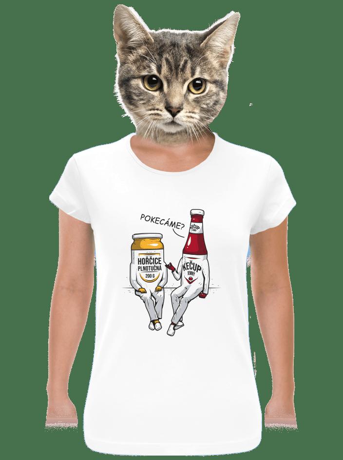 Pokecáme dámské tričko