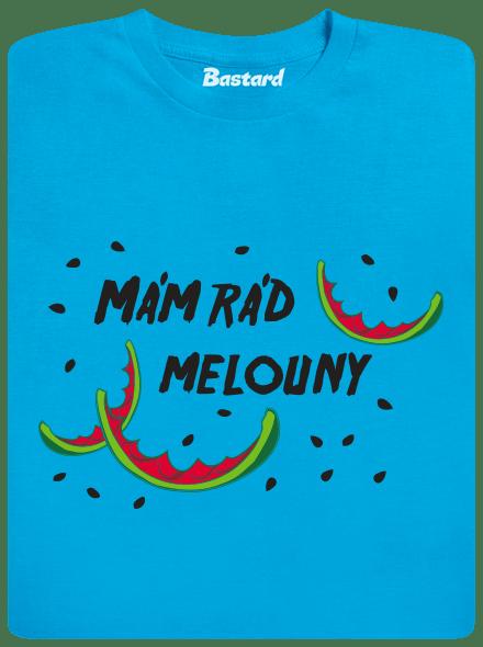 moderní střih trička; 100% předem vysrážená bavlna; kvalitní nesepratelný potisk (sítotisk); standardní gramáž látky (185 g/m²); dámské tričko do páru koupíš