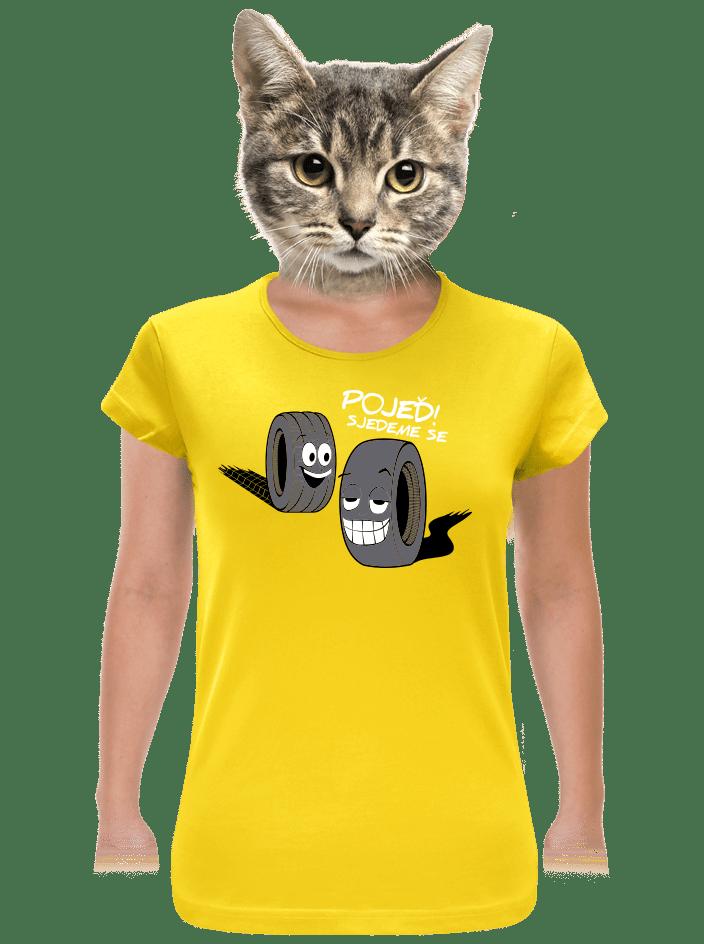 Pneumatiky dámské tričko