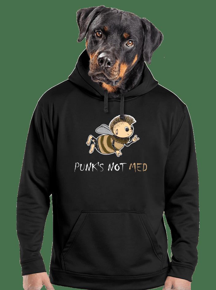 Punks Not Med pánská mikina