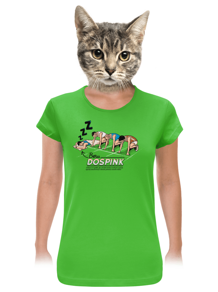 Dospink dámské tričko