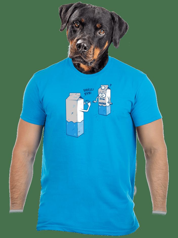 Udělej sýr pánské tričko