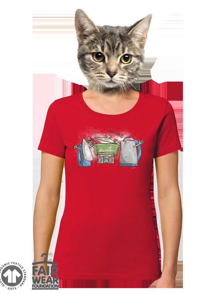 Paříme dámské BIO tričko