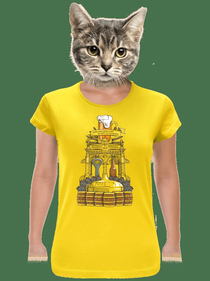 Pivní oltář dámské tričko