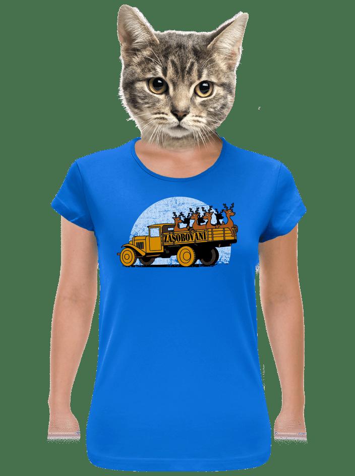 Zásobování dámské tričko