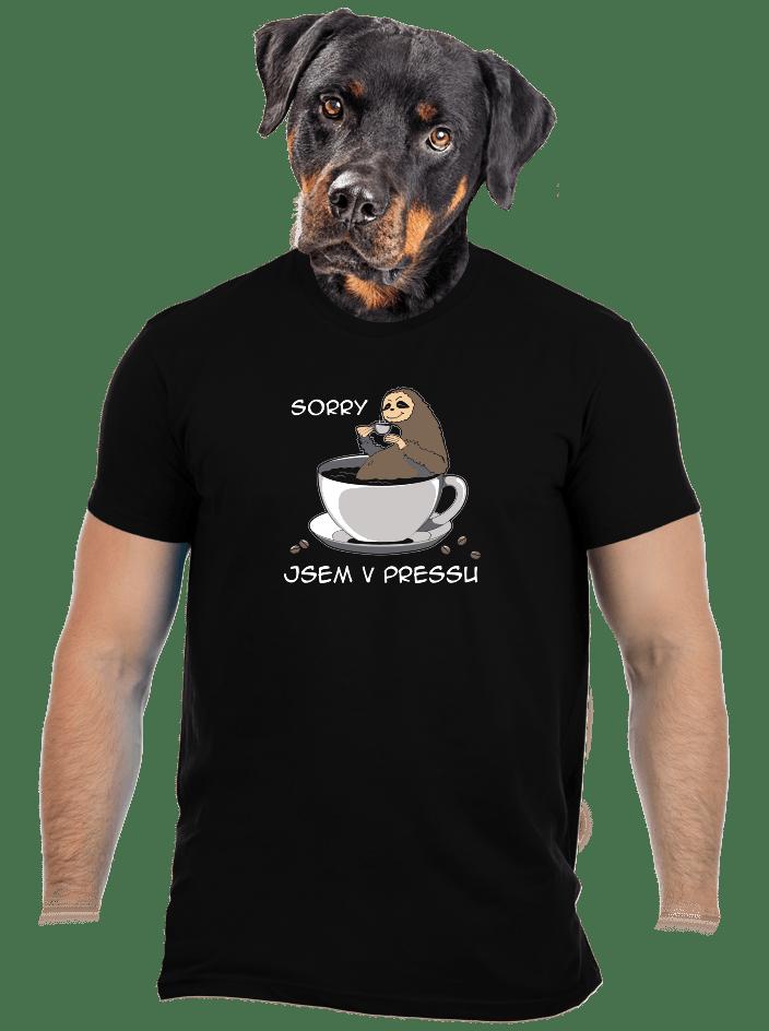 V pressu pánské tričko