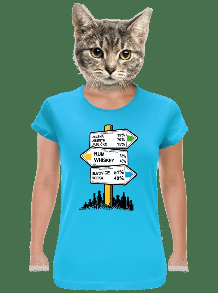 Rozcestník dámské tričko