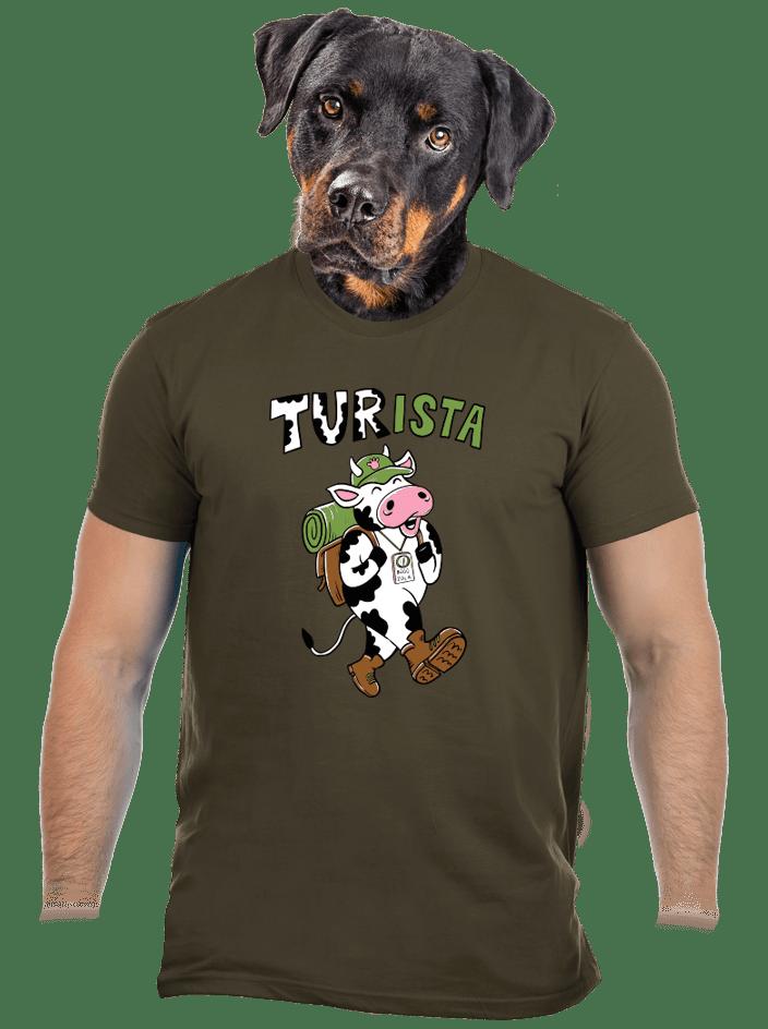 Tur na cestách pánské tričko