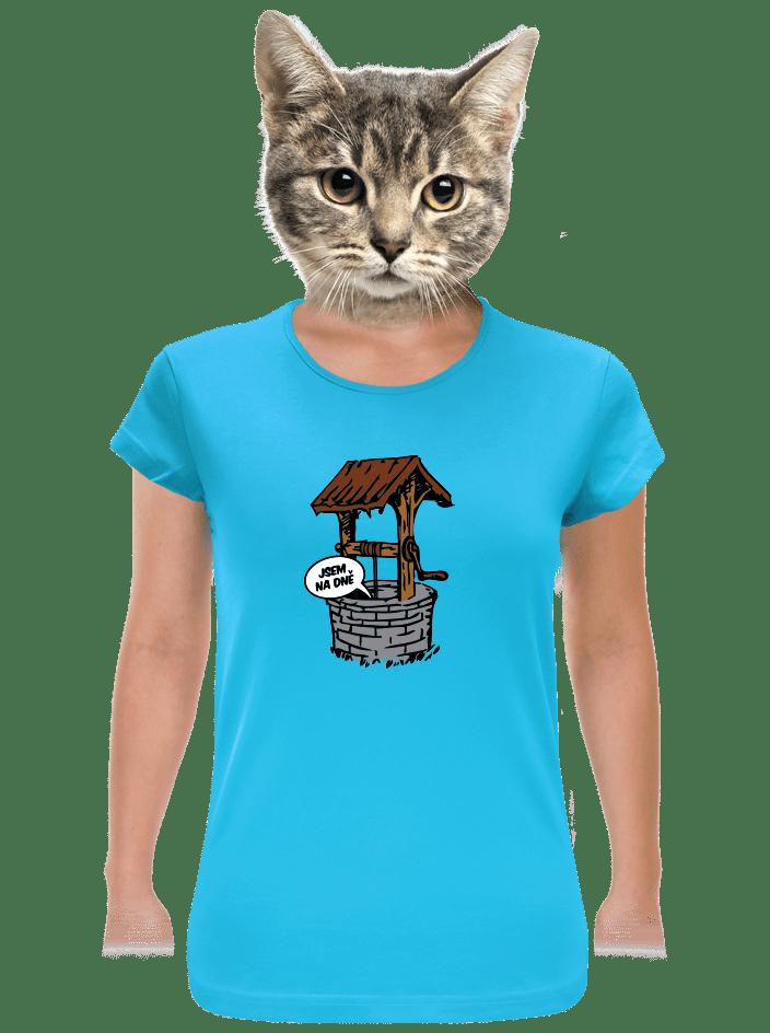 Na dně dámské tričko