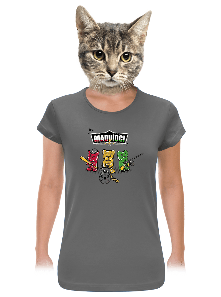 Madvídci dámské tričko
