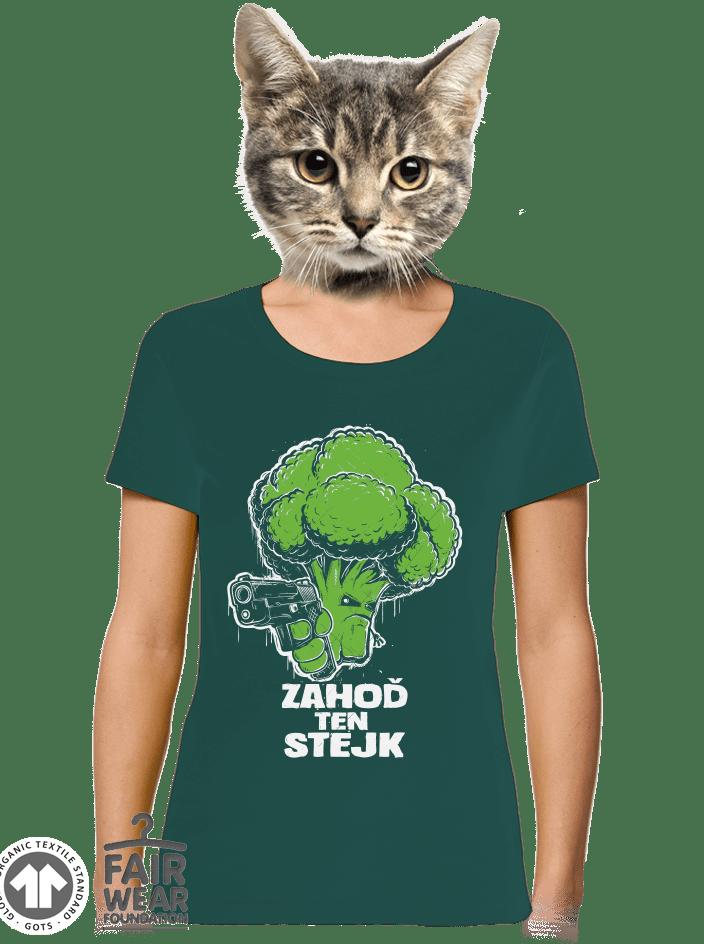 Zahoď ten stejk dámské BIO tričko