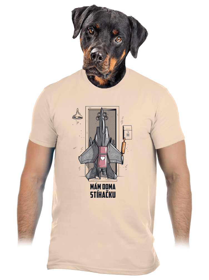 Stíhačka pánské tričko
