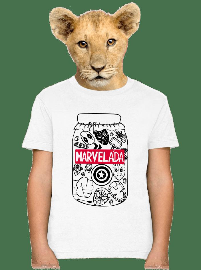 Marveláda dětské tričko