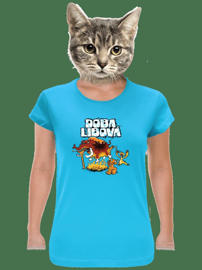 Doba libová dámské tričko