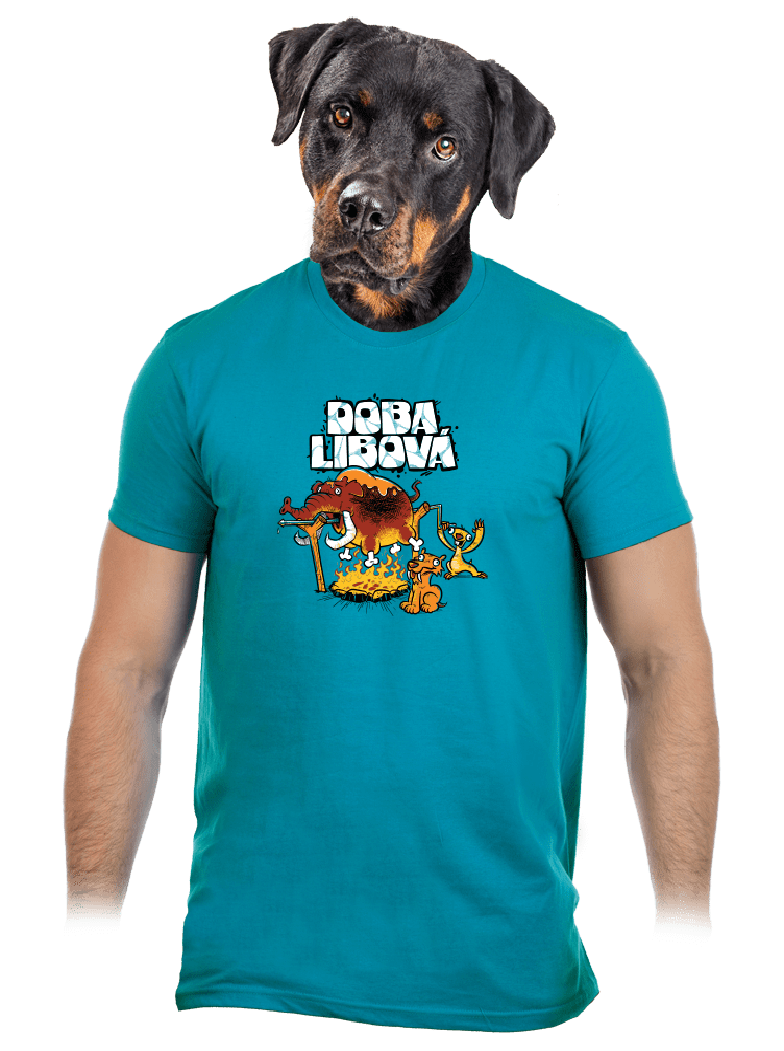 Doba libová pánské tričko