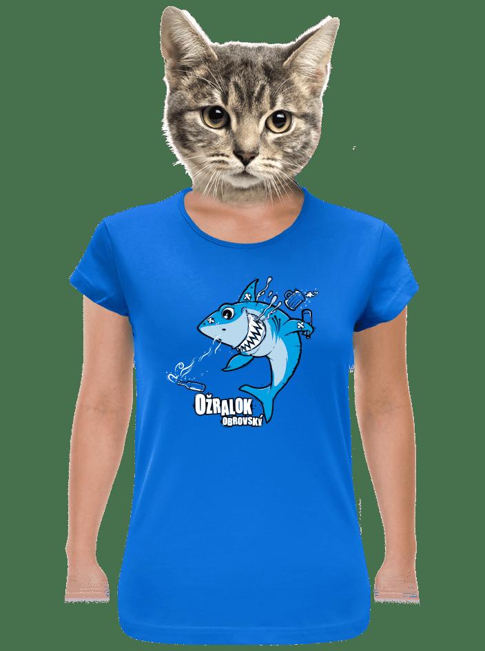 Ožralok dámské tričko