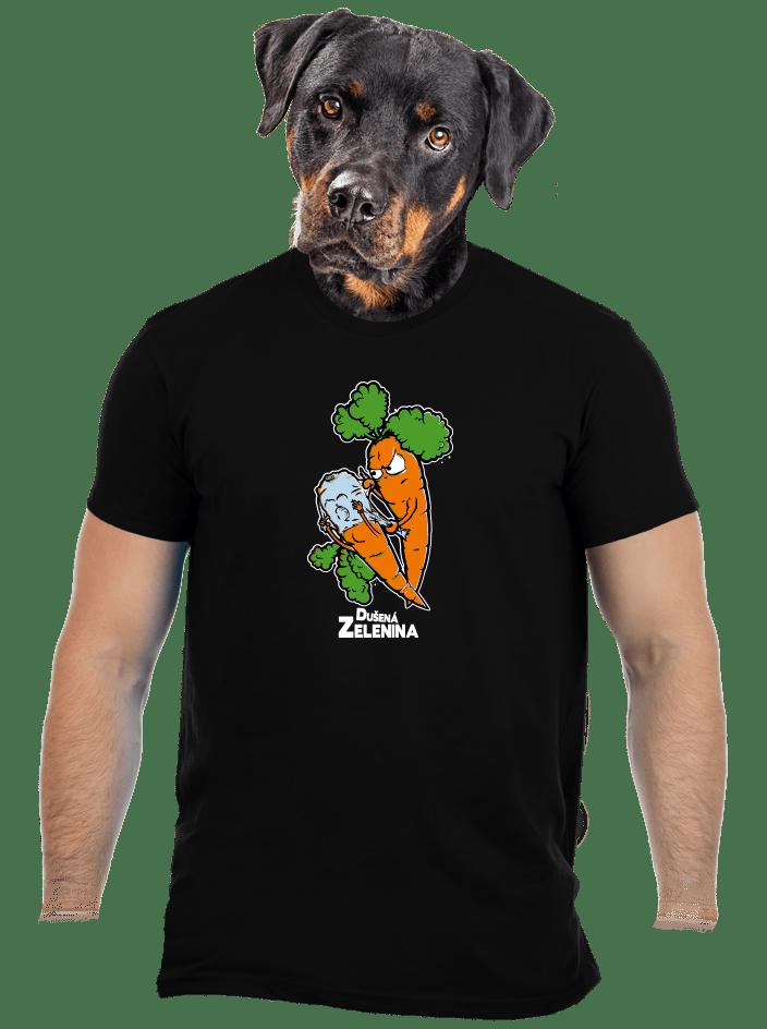 Dušená zelenina pánské tričko
