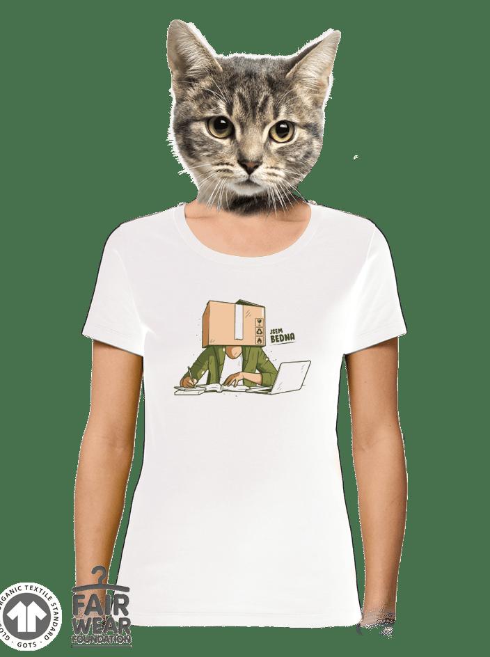 Jsem bedna dámské BIO tričko
