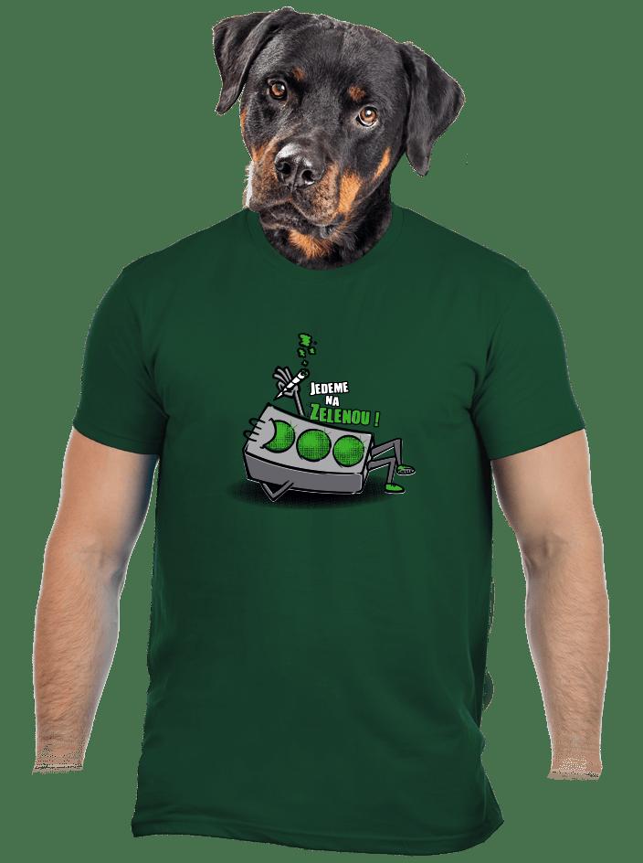 Na zelenou pánské tričko