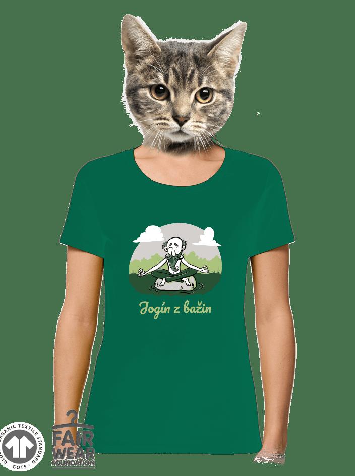 Jogín z bažin dámské BIO tričko