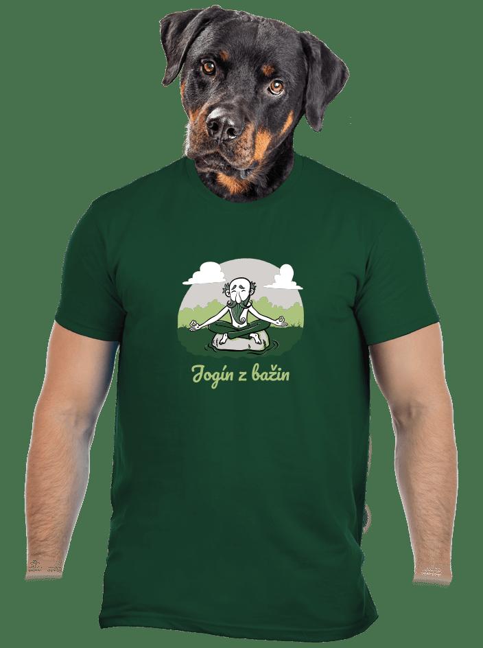 Jogín z bažin pánské tričko