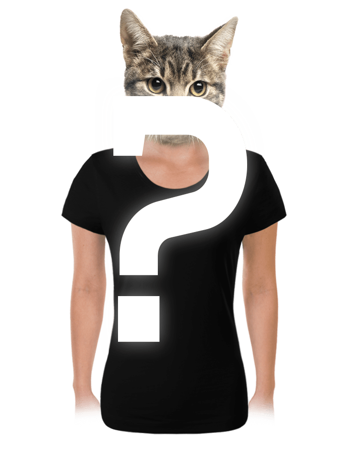 Náhodné dámské tričko s digi-tiskem