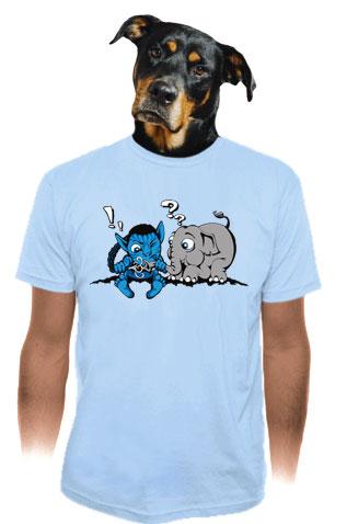 db84ec2ecc5 Error 501 modré pánské tričko