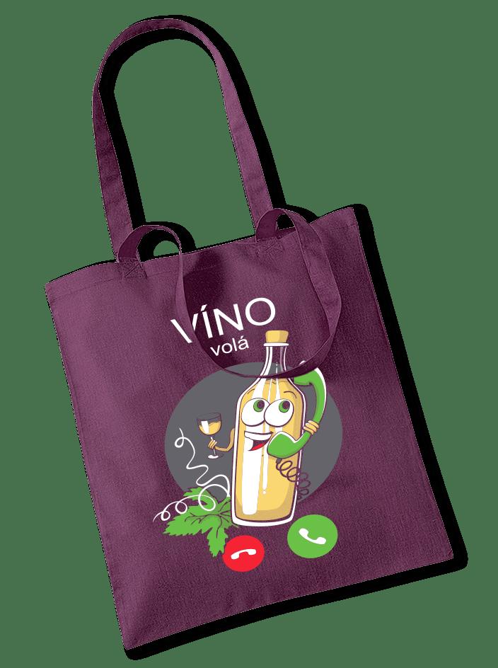 Bílé víno volá taška
