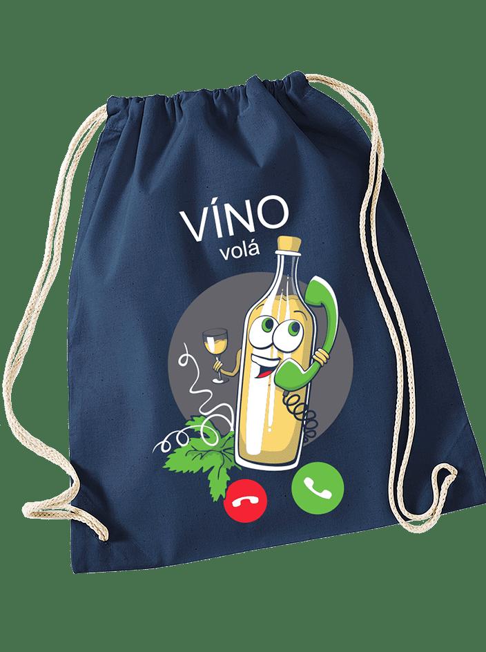 Bílé víno volá vak na záda