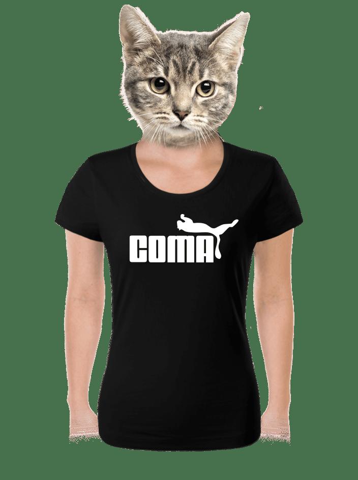 Coma černé dámské tričko