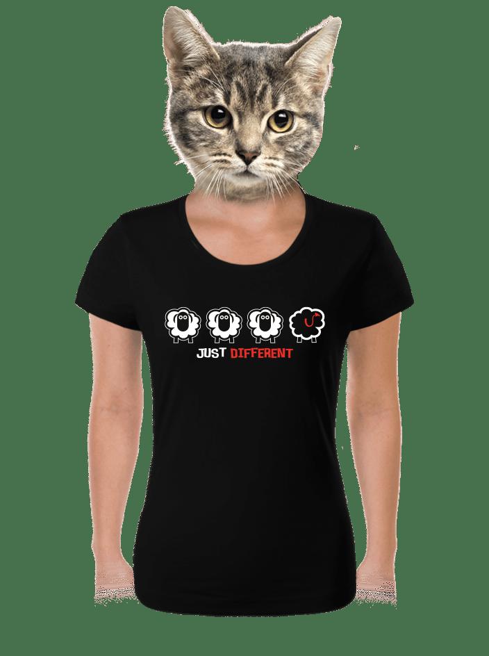 Černá ovce dámské tričko