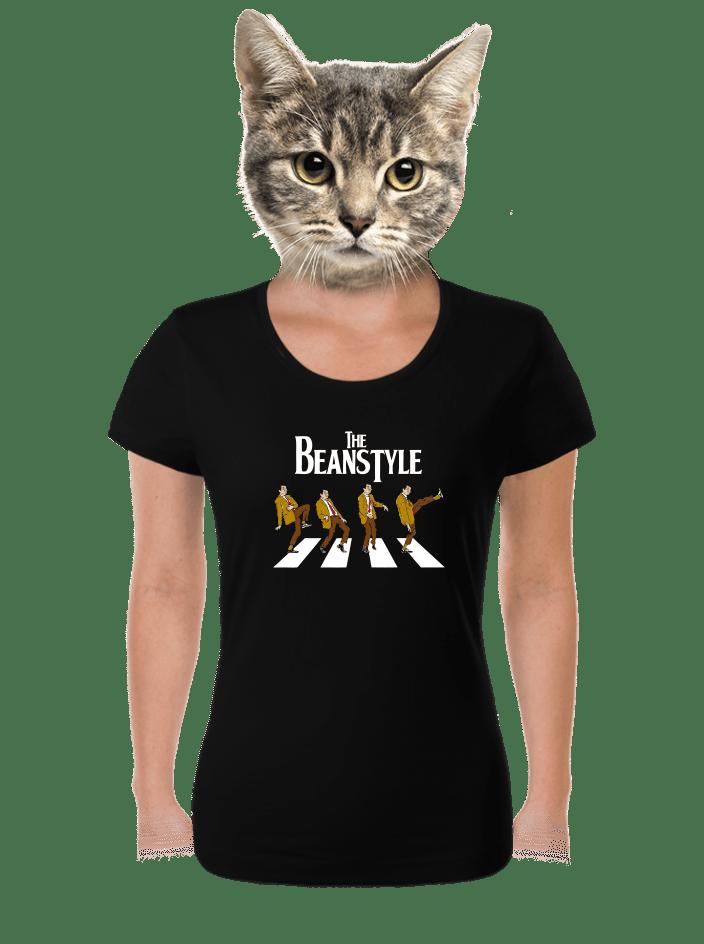 Beanstyle černé dámské tričko