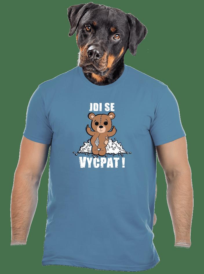 Jdi se vycpat pánské tričko