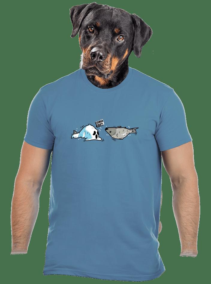 Leklá ryba pánské tričko